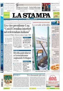 La Stampa Imperia e Sanremo - 8 Dicembre 2017