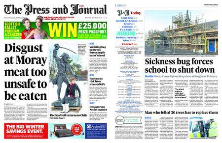 The Press and Journal Moray – January 18, 2018
