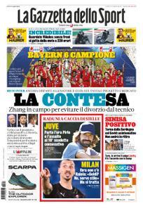 La Gazzetta dello Sport Sicilia – 24 agosto 2020