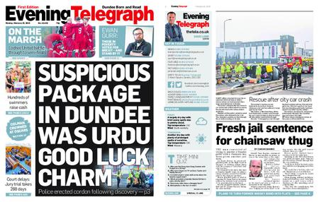 Evening Telegraph First Edition – February 25, 2019
