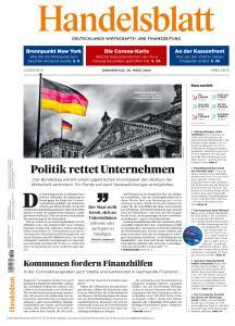 Handelsblatt - 26 März 2020