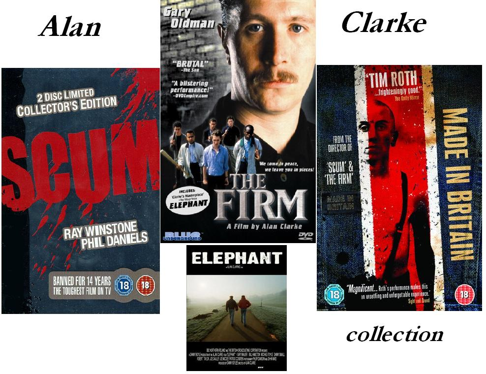 Alan Clarke Movie Collection
