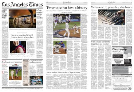 Los Angeles Times – August 05, 2021