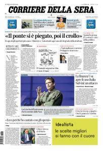 Corriere della Sera - 20 Agosto 2018
