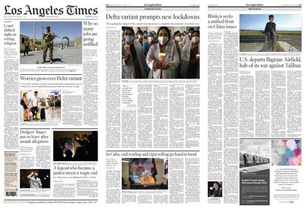 Los Angeles Times – July 03, 2021