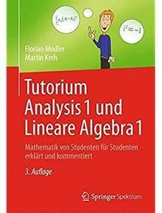 Tutorium Analysis 1 und Lineare Algebra 1: Mathematik von Studenten für Studenten erklärt und kommentiert (Auflage: 3) [Repost]