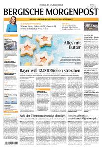 Solinger Morgenpost – 30. November 2018