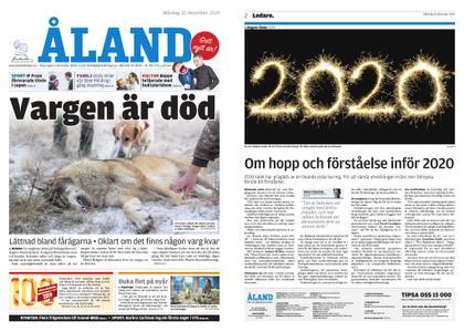 Ålandstidningen – 30 december 2019