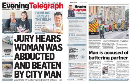 Evening Telegraph First Edition – September 19, 2019