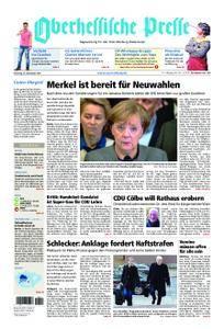 Oberhessische Presse Marburg/Ostkreis - 21. November 2017