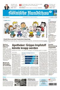 Kölnische Rundschau Wipperfürth/Lindlar – 02. Oktober 2020