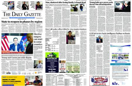 The Daily Gazette – April 22, 2020