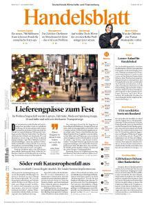 Handelsblatt - 7 Dezember 2020