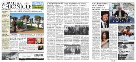 Gibraltar Chronicle – 22 January 2018