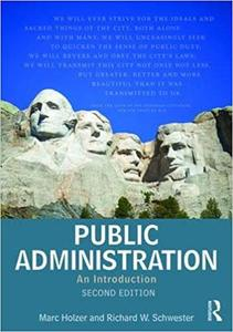 Public Administration: An Introduction Ed 2