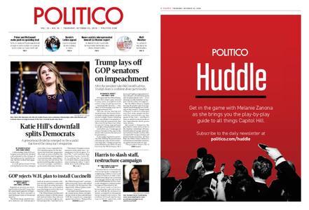 Politico – October 31, 2019