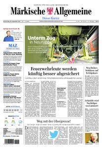 Märkische Allgemeine Dosse Kurier - 28. September 2017