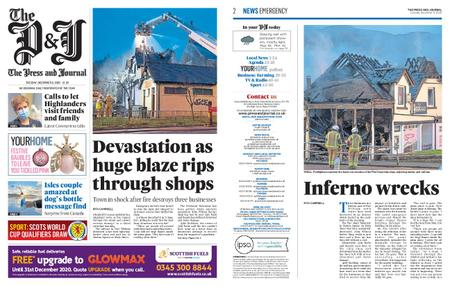 The Press and Journal Moray – December 08, 2020