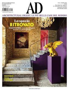 AD Architectural Digest Italia - Marzo 2018