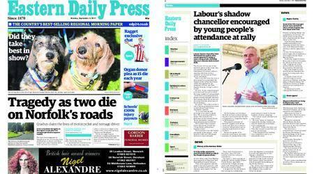 Eastern Daily Press – September 04, 2017
