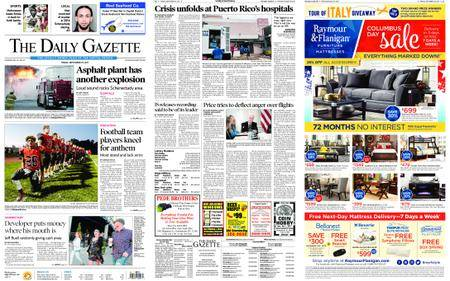 The Daily Gazette – September 29, 2017
