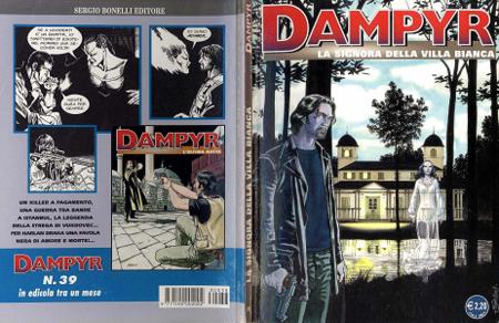 Dampyr - Volume 38 - La Signora della Villa Bianca