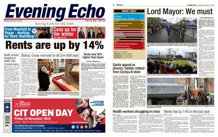 Evening Echo – November 12, 2018