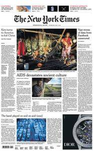 International New York Times - 09 May 2018