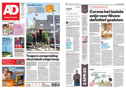 Algemeen Dagblad - Zoetermeer – 02 april 2020