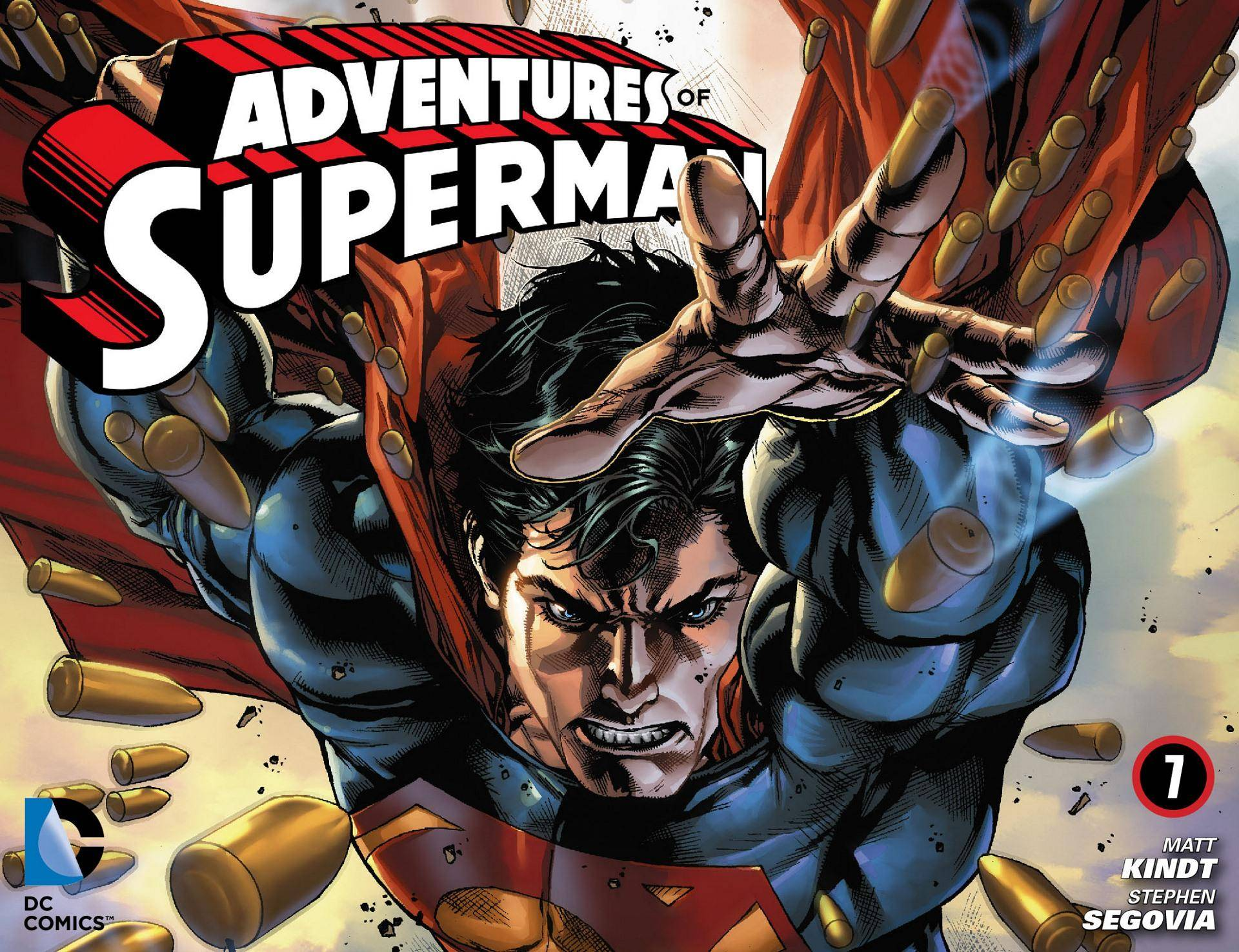 Adventures of Superman 007 2013 Digital