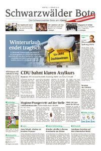Schwarzwälder Bote Hechingen - 11. Februar 2019