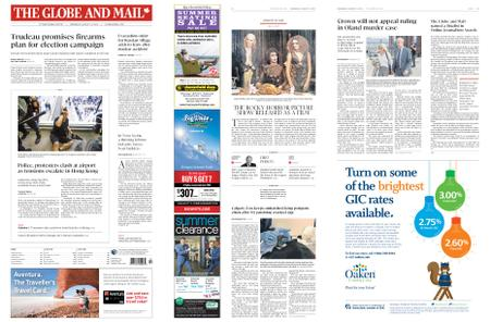 The Globe and Mail – August 14, 2019