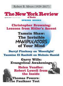 The New York Review of Books - April 20, 2017
