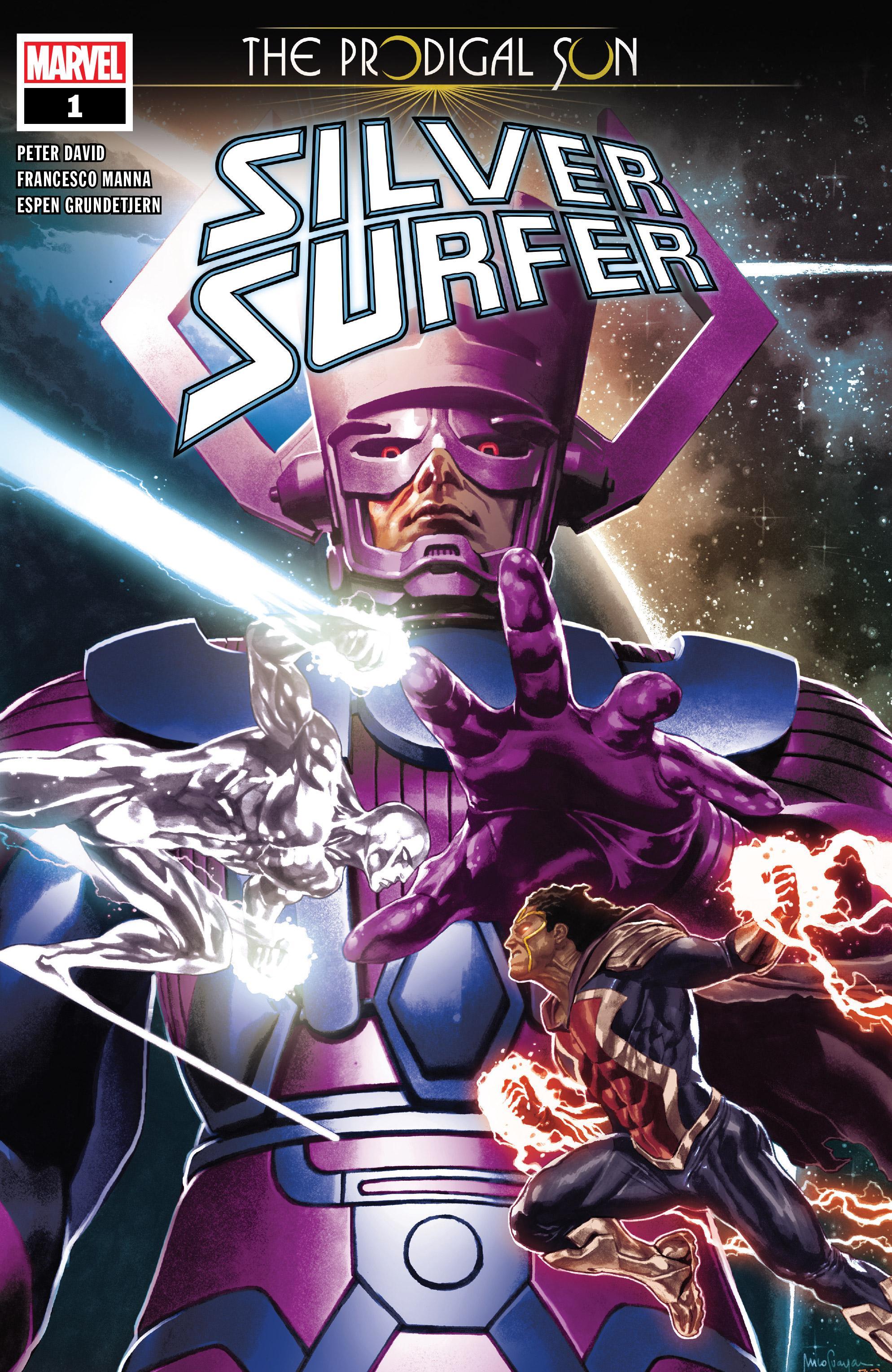 Silver Surfer-The Prodigal Sun 001 2019 Digital Zone