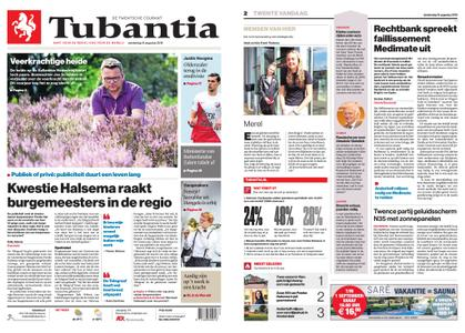 Tubantia - Enschede – 15 augustus 2019