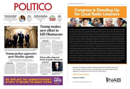 Politico – March 27, 2019