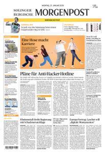 Solinger Morgenpost – 21. Januar 2019