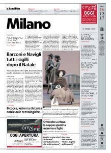 la Repubblica Milano - 16 Dicembre 2017