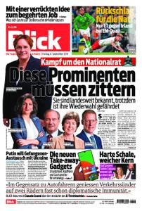 Blick – 06. September 2019
