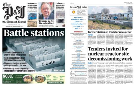 The Press and Journal Moray – March 13, 2020