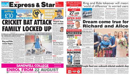Express and Star City Edition – July 23, 2019