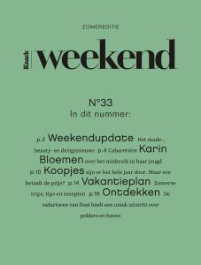 Knack Weekend - 14 Augustus 2019
