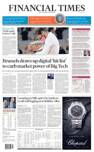 Financial Times Middle East - October 12, 2020