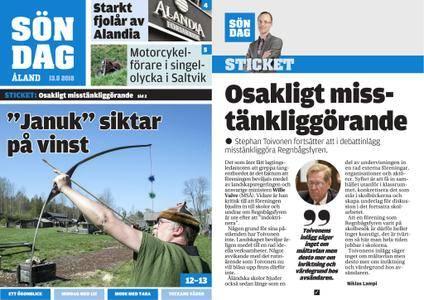 Ålandstidningen – 13 maj 2018