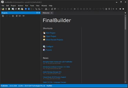 FinalBuilder 8.0.0.2550 Professional Edition