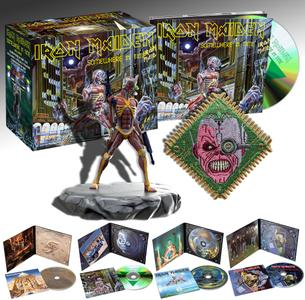 Iron Maiden - The Studio Collection, Part 2 (Box Set 4 CD, 1984-1990, Remastered 2015) (2019)