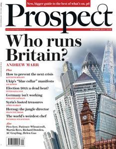 Prospect Magazine - September 2014