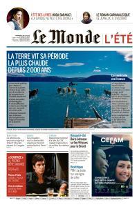 Le Monde du Vendredi 26 Juillet 2019