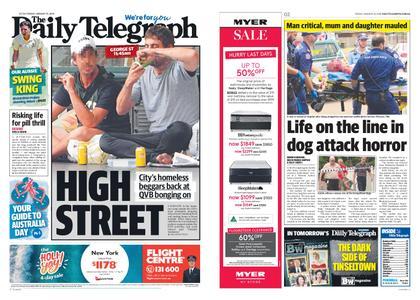 The Daily Telegraph (Sydney) – January 25, 2019