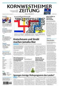 Kornwestheimer Zeitung - 10. November 2017